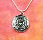 "US Coast Guard Necklace, pick 16-36"" chain, United States Military Service Charm"