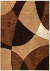 MODERN ABSTRACT BEIGE RUG #23 APPROXIMATE SIZES  2'X3' 2'X7' 4'X5' 5'X7' 8'X11'