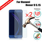 2Pcs Premium Quality Tempered Glass Guard Screen Protector For Huawei Phones