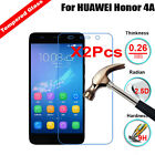 2Pcs Real Tempered Glass Screen Protector Cover Film 9H For Huawei Ascend Y530