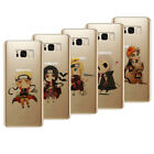 Ultra-thin Hot Anime Naruto Printed TPU Phone Case Skins For Samsung S6/7 8 Plus