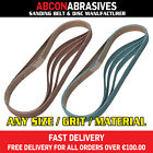 30 x Abrasive Sanding File Belts 6x610mm (P36-P500)  Manufactured in Ireland