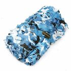 Camo Woodland leaves Camouflage Net Netting Camping Military Hunting Party Blind