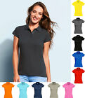 Ladies Womens Polo Shirt - Summer Casual Smart Stylish Office Work Business Wear