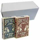 12 DECKS BICYCLE PLAYING CARDS BOX CASE MAGIC TRICKS POKER USPCC MADE IN USA NEW