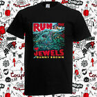 New Run The Jewels Tour Logo 2017 Killer Mike Men's Black T-Shirt Size S-3XL image