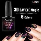 CANNI 7.3ML Metal Chameleon Colors Gel Change Color Cats Eyes FAST DRY Nail Art
