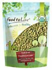 Food To Live ® Certified Organic Green Lentils (Non-GMO,  Bulk) (1 to 20 lbs)
