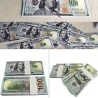 100 Bills Full Print Best Movie Prop Play Fake Money Joke Prank Magic Props DA