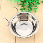 Pet Food Bowl Dog Water Cat Stainless Steel S/M/L Size Dish Bowl USPS