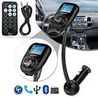 Wireless Bluetooth Car MP3 Player Radio FM Transmitter LCD SD USB Charger Kit <br/> 5 Year Warrranty Free Sameday Dispatch/ Remote Control