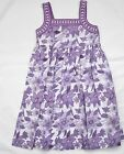 Girls Dresses Floral Sundress Kids Fully Lined Cotton Dress 7-8 1 Only