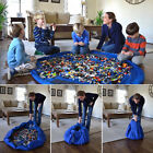 Large Portable Kids Toy Organizer Storage Bag Play Mat For Lego Rug Box 150CM