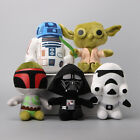 Star Wars Soft Plush 20cm Toy Doll Darth Vader R2D2 Yoda Boba Fett $22.99 AUD