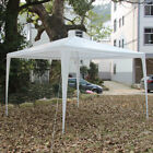 10' x 10' New Party Tent Outdoor Heavy Duty Gazebo Wedding Canopy White-HOT