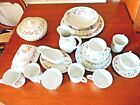 BHS VICTORIAN ROSE DINNER & TEA SERVICE & OTHER SERVING DISHES