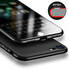 Luxury Ultra Thin Hard Acrylic PC Jet Black Back Case Cover for iPhone 7 6s Plus