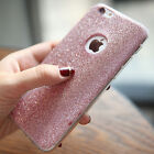 Thin Matte Glitter Bling Silicone TPU Case Cover for iPhone 6 6s Plus+ 5s SE Cap
