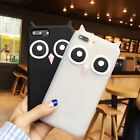 New 3D OWL Soft Silicone Case Back Cover For iPhone 6 6S 6 Plus 6S Plus 7 7 Plus