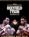 Mike Tyson vs. Evander Holyfield 1991 Boxing Sport Poster Wall Art Canvas Print