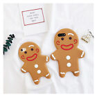 3D Gingerbread Man Soft Silicone Case Back Cover Skin For iPhone 6 6s 7 / Plus
