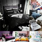 Luxurious New Design Printed Duvet Quilt Cover+Pilow Cases Bedding Set All sizes