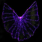 Belly Dance LED Isis Wings Belly Dancing Stage Performance Wings With Stick