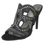 WHOLESALE Ladies High Heel Strappy Sandals / Sizes 3-8 / 14 Pairs / F10765