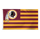 Officially Licensed NFL Deluxe Americana USA Team  3 x 5 Flag