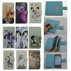 Cell Phone PU Leather Protective Skin Cover W/ Card Holder Wallet For ZTE FLY
