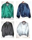LOT 10 Men's Pullover Wind Breaker WindShirt Sport Baseball Golf Gray Large