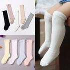 Внешний вид - Baby Toddler Girls Knee High Socks Tights Leg Cotton Warmer Stockings For 0-3Y