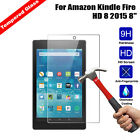 Genuine 2.5D Tempered Glass Screen Protector For All-New:Kindle Fire HD 8.0 2016