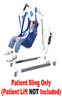 Внешний вид - NEW Universal Padded Patient Lift Sling WITHOUT HEAD SUPPORT Use With Most Lifts