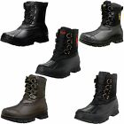 Polo Ralph Lauren Mens Crestwick Lace Up Duck Toe Waterproof Winter Boots Shoes
