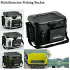 Outdoor Waterproof Multi Fishing Bucket EVA Fish Tank Water Tackle Carry Box