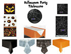 Halloween Party Tableware - Plates Tablecover Napkins