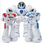 Remote Control/Induction Cosmic Cop Robot Programming Walking,Shooting,Talking