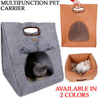Outdoor Multifunction Pet House Dog Cat Cave Bed Comfy Nest Carrier Tote Bag