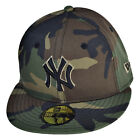 New Era New York Yankees 59Fifty Men's Fitted Hat Cap Camo/Black