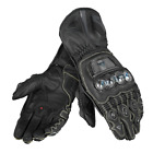 Dainese Full Metal D1 Motorcycle Titanium Armoured Gloves Black New RRP £299.99!