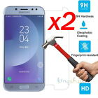 2x 9H Premium Tempered Glass Screen Protector For Samsung Galaxy J7 Pro / J5 Pro
