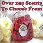 Wax Tart Melts 8 oz  35-40pc Chunks Chips Crumble Candle 250+ Scents -You Choose