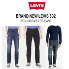 Brand New Original LEVIS 502 Men's REGULAR TAPER FIT Jeans