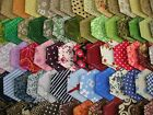 100 HEXAGONS MULTI COLOURED 100% COTTON  FOR QUILTING & PATCHWORK  JAN