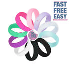 10Pcs Silicone Wedding Ring Rubber Band Set Women Men Sport Outdoor Comfortable