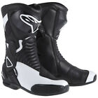 Alpinestars Stella S-MX 6 Boots Black White Sports Touring Motorcycle Boots NEW