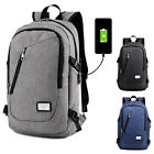 Multifunction USB Charging Laptop Backpack Men's Leisure Travel Anti Thief Bag