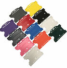 ID Card Holder Rigid Staff Work ID Badge Holder - CHOOSE YOUR COLOUR FREE P&P