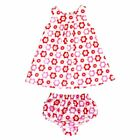 Toby Tiger Baby Dress & Pant Set - Pop Flower